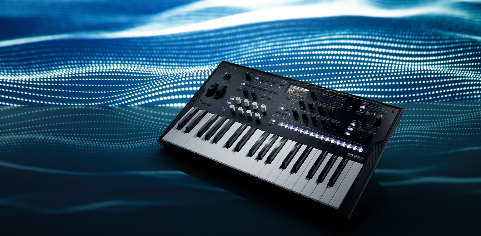 #NAMM2020 Korg Wavestate : Wave Sequencing Synthesizer