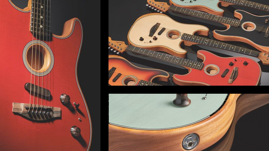 Fender continue l'innovation avec American Acoustasonic Stratocaster