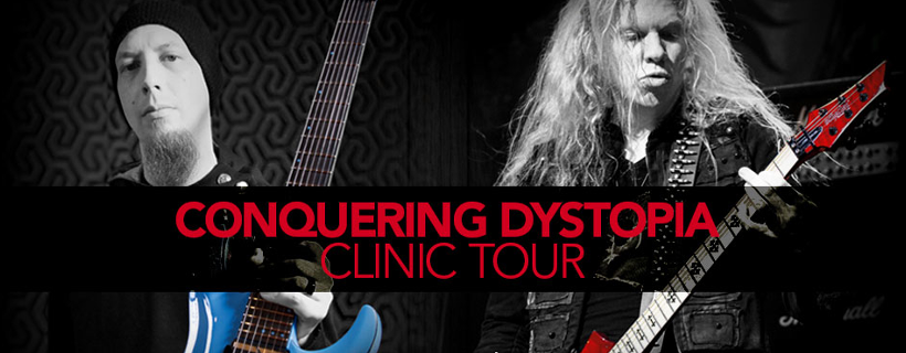 Jeff Loomis & Keith Merrow en Clinic Tour à Paris avec Schecter et Metal Guitar !