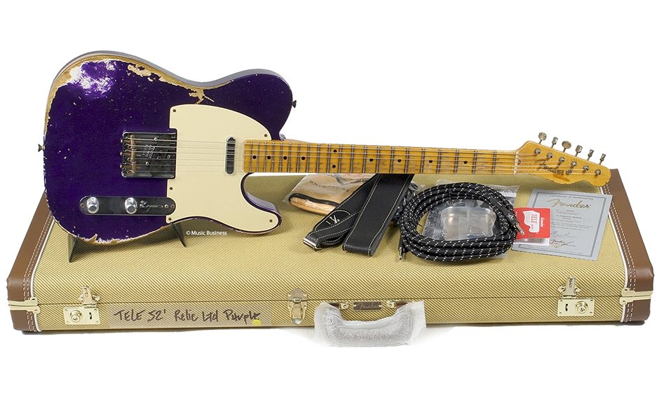 Nouvel arrivage Fender Custom Shop chez Guitar Legend : 1952 Heavy Relic Telecaster