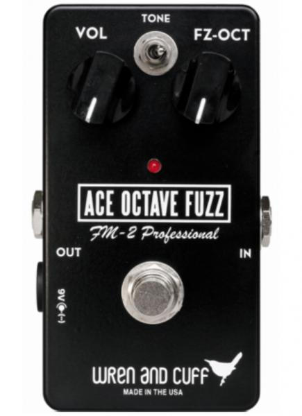 Pédale overdrive / distortion / fuzz Wren and cuff Ace Octave Fuzz