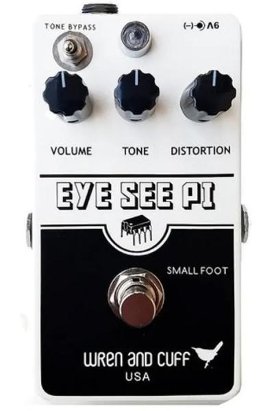 Pédale overdrive / distortion / fuzz Wren and cuff Eye See Pie Fuzz