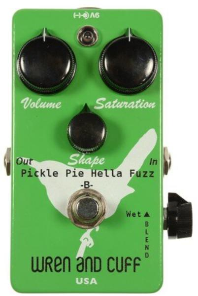 Pédale overdrive / distortion / fuzz Wren and cuff Pickle Pie Bass Fuzz