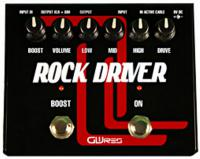Pédale overdrive / distortion / fuzz Gwires Pro Rock Driver