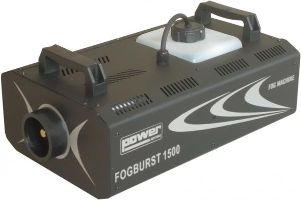 Machine à fumée Power lighting Fogburst 1500