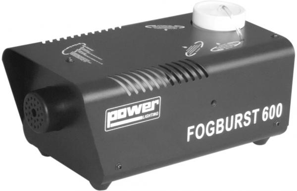 Machine à fumée Power lighting Fogburst 600