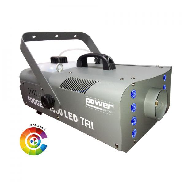 Machine à fumée Power lighting fogburst 1500 led tri