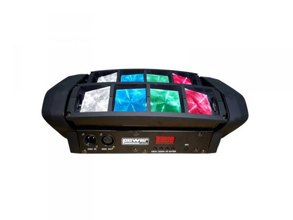 Multi-faisceaux & effet Power lighting Spider Pocket