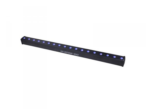 Barre à led Power lighting UV Bar Led 18X3