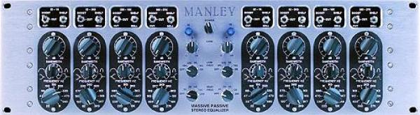 Equaliseur / channel strip Manley Massive Passive