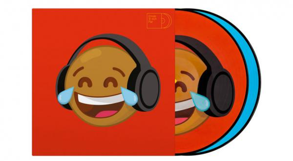 Vinyl timecode Serato Emoji PIcture Disc(Thinking/Crying)