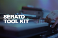 Logiciel de mix dj Serato Tool Kit Scratch Card