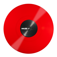 Vinyl timecode Serato Serato Standard Colors 12'' (Pair) - Red