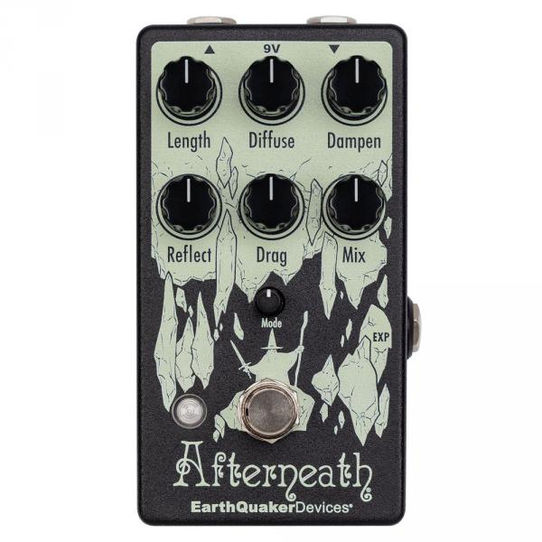Pédale reverb / delay / echo Earthquaker AFTERNEATH REVERB V3