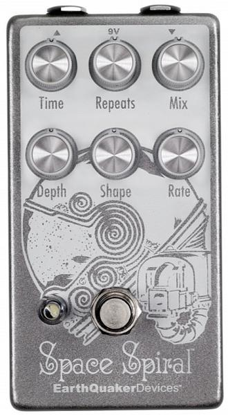 Earthquaker Space Spiral Delay Reverb, delay & echo effect