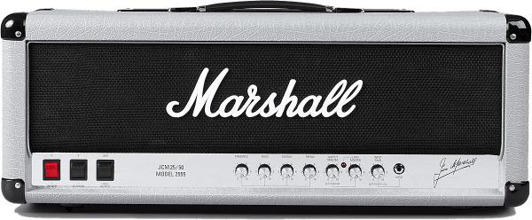 Tête ampli guitare électrique Marshall Silver Jubilee Reissue 2555X Guitar Head