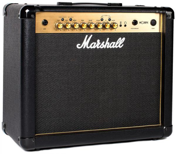 Combo ampli guitare électrique Marshall MG30GFX MG GOLD Combo 30 W