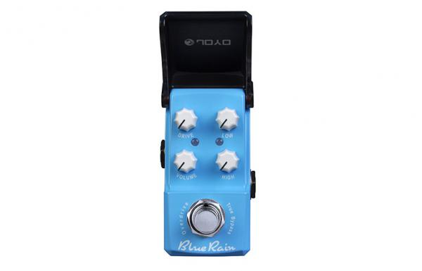 Pédale overdrive / distortion / fuzz Joyo IronMan Blue Rain