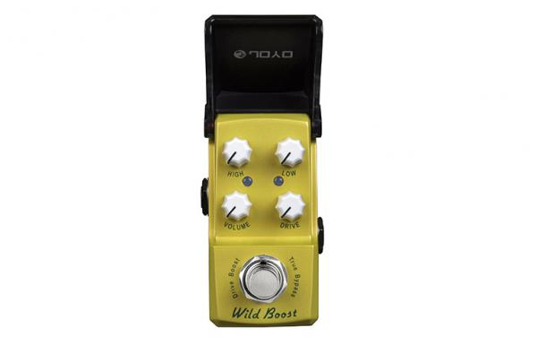 Pédale volume / boost. / expression Joyo IronMan Wild Boost