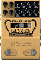 Preampli électrique Two notes LeCrunch