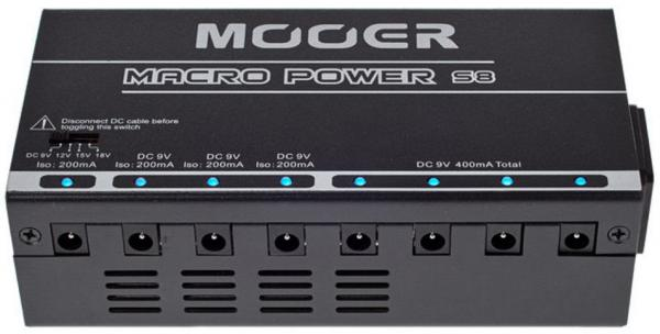 Alimentation Mooer Macro Power S8 (1200mA / 9-12-15-18V)