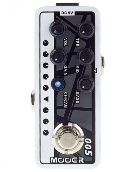 Preampli électrique Mooer Micro Preamp 005 Fifty-Fifty 3