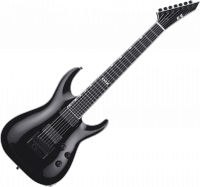 Guitare électrique solid body E-ii E-II Horizon NT-7 Evertune (Japan) - Black