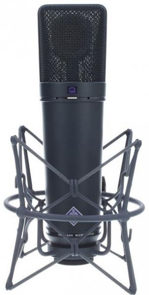 Micro statique large membrane Neumann U87 Ai MT Studio Set - Black