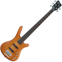 Basse électrique solid body Rockbass Corvette Basic Active 5-String - Honey violin trans