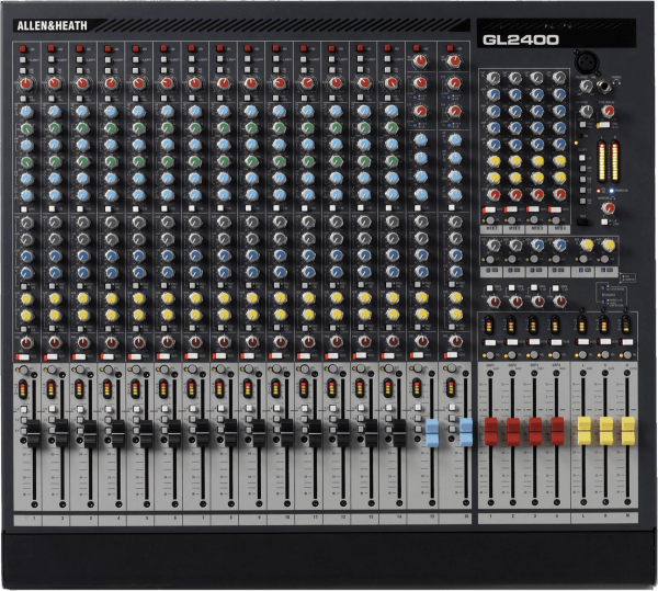 Table de mixage analogique Allen & heath GL2400-16-4
