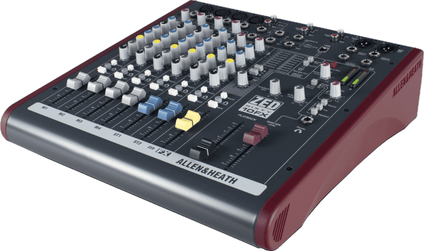 Table de mixage analogique Allen & heath ZED60-10FX