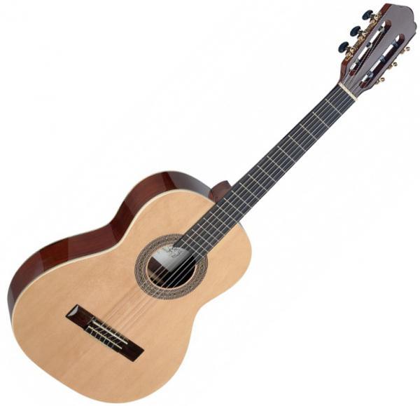 Angel lopez Cereza CER-3/4 S - natural Guitare classique ...