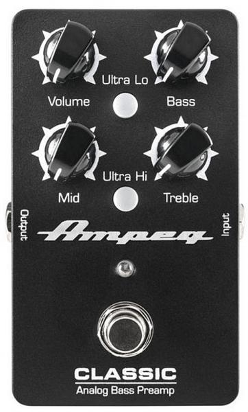Preampli basse Ampeg Classic Analog Bass Preamp