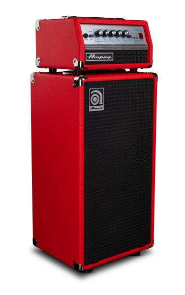 Stack ampli basse Ampeg MICRO VR STACK RED LIMITED EDITION 2X10 200W
