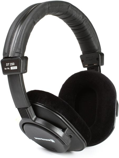 Casque studio & dj Beyerdynamic DT 250 80 ohms - Black