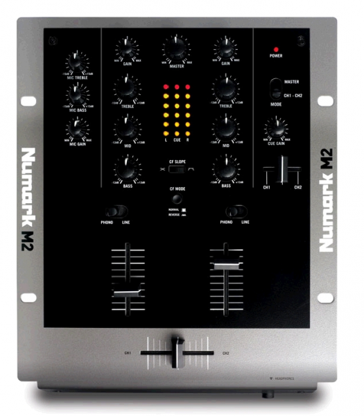 Table de mixage dj Numark M2 Table de mixage DJ 2 voies