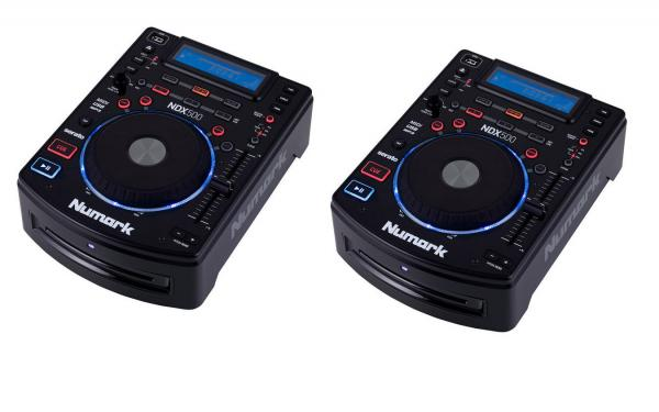Platine cd & mp3 Numark Ndx 500 pack