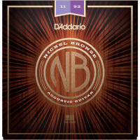 Cordes guitare folk  D'addario NB1152 Acoustic Nickel Bronze Set