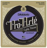 Cordes guitare classique nylon D'addario EJ44LP Pro Arte Classical Lightly Polished - Jeu de cordes