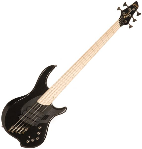 Basse électrique solid body Dingwall Adam Nolly Getgood NG3 5 3-Pickups - Metallic black