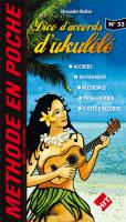 Librairie ukulele Hit diffusion Methode En Poche Dico D'accords Ukulele