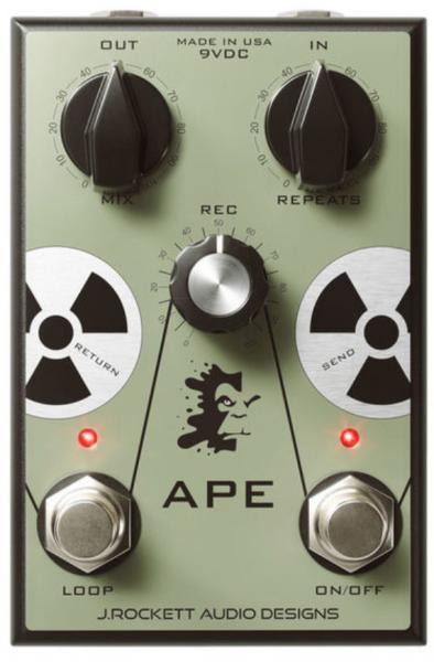 Pédale volume / boost. / expression J. rockett audio designs APE Analog Preamp Experiment