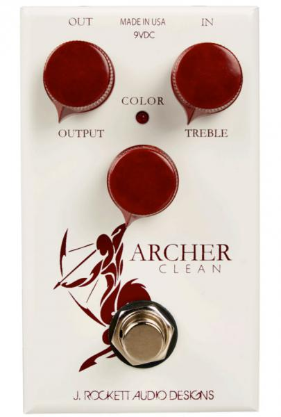 Pédale volume / boost. / expression J. rockett audio designs Archer Clean