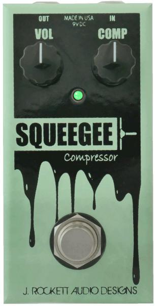 Pédale compression / sustain / noise gate  J. rockett audio designs Squeegee Compressor