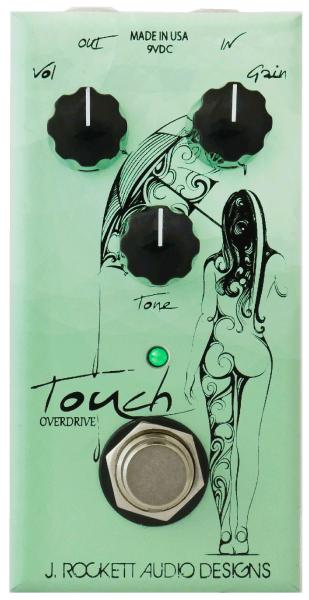 Pédale overdrive / distortion / fuzz J. rockett audio designs Touch Overdrive