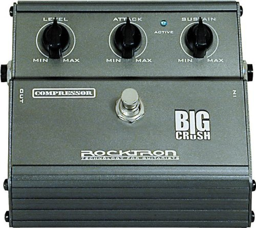 Pédale compression / sustain / noise gate  Rocktron                       Big Crush Compressor