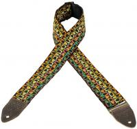Courroie sangle Levy's M8HTV-14 Hootenanny Jacquard Guitar Strap
