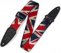 Courroie sangle Levy's MDP-UK Polyester Guitar Strap