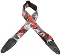 Courroie sangle Levy's MPDS2-RR Polyester Guitar Strap