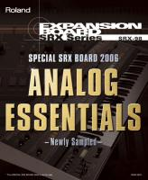 SRX-98 ANALOG ESSENTIALS